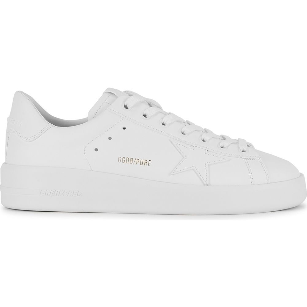 ゴールデン グース Golden Goose Deluxe Brand レディース スニーカー シューズ・靴【Pure Star White Leather Sneakers】White