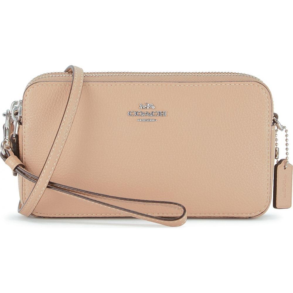 コーチ Coach レディース ショルダーバッグ バッグ【Kira Sand Leather Cross-Body Bag】Natural