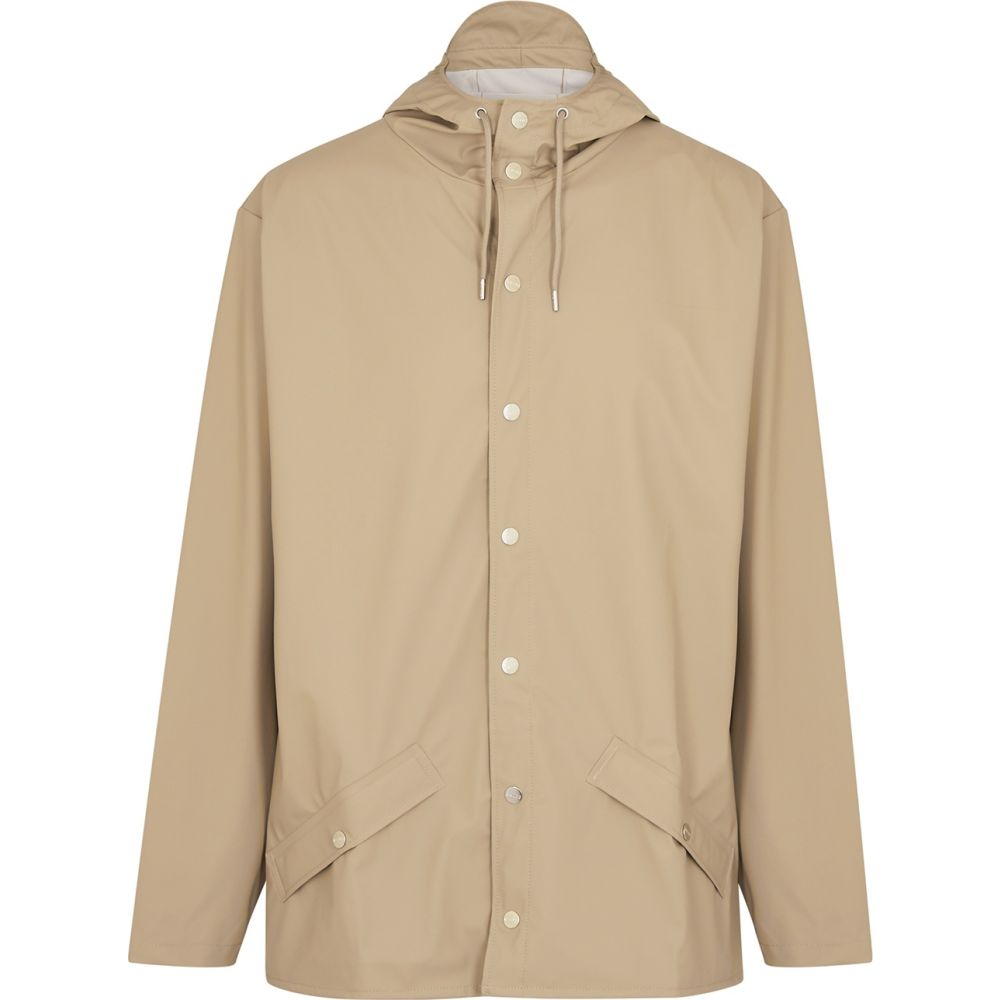 レインズ Rains メンズ レインコート アウター【ecru water-resistant rubberised raincoat】Natural