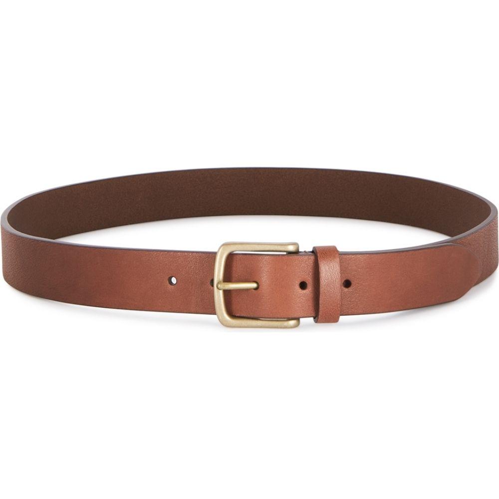 アンダーソンズ Anderson s メンズ ベルト 【brown leather belt】Brown