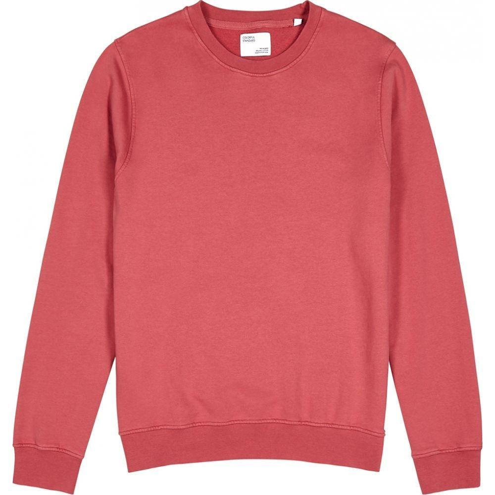 カラフルスタンダード COLORFUL STANDARD メンズ スウェット・トレーナー トップス【classic cotton-jersey sweatshirt】Pink