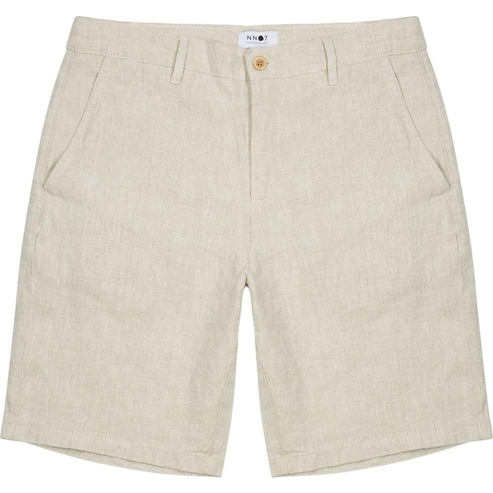 NN07 メンズ ショートパンツ ボトムス・パンツ【crown ecru linen shorts】Natural