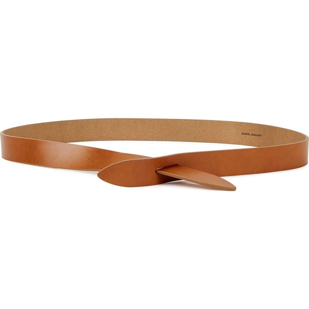 イザベル マラン Isabel Marant Etoile レディース ベルト 【lecce brown leather belt】Brown