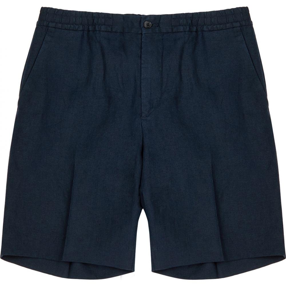 ジェイ リンドバーグ J.Lindeberg メンズ ショートパンツ ボトムス・パンツ【sasha navy linen shorts】Navy