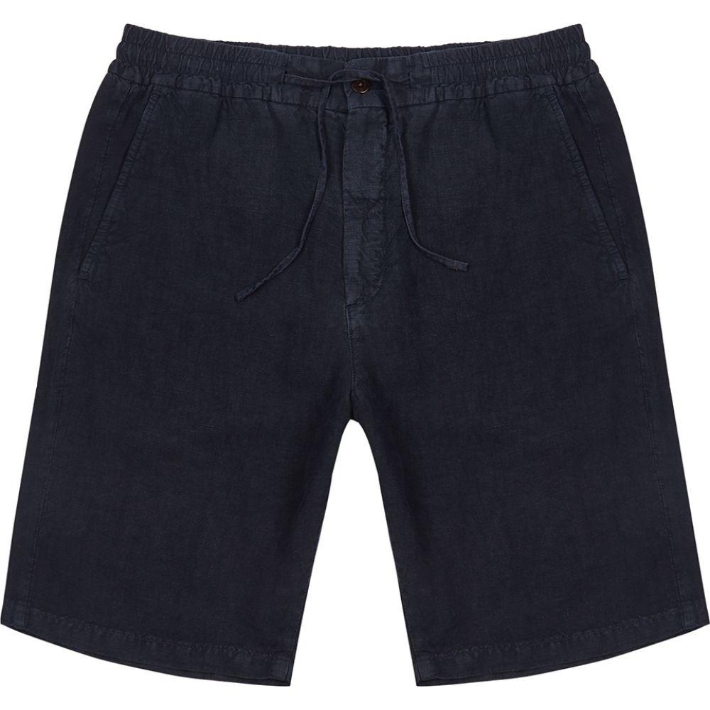 NN07 メンズ ショートパンツ ボトムス・パンツ【seb navy linen shorts】Navy