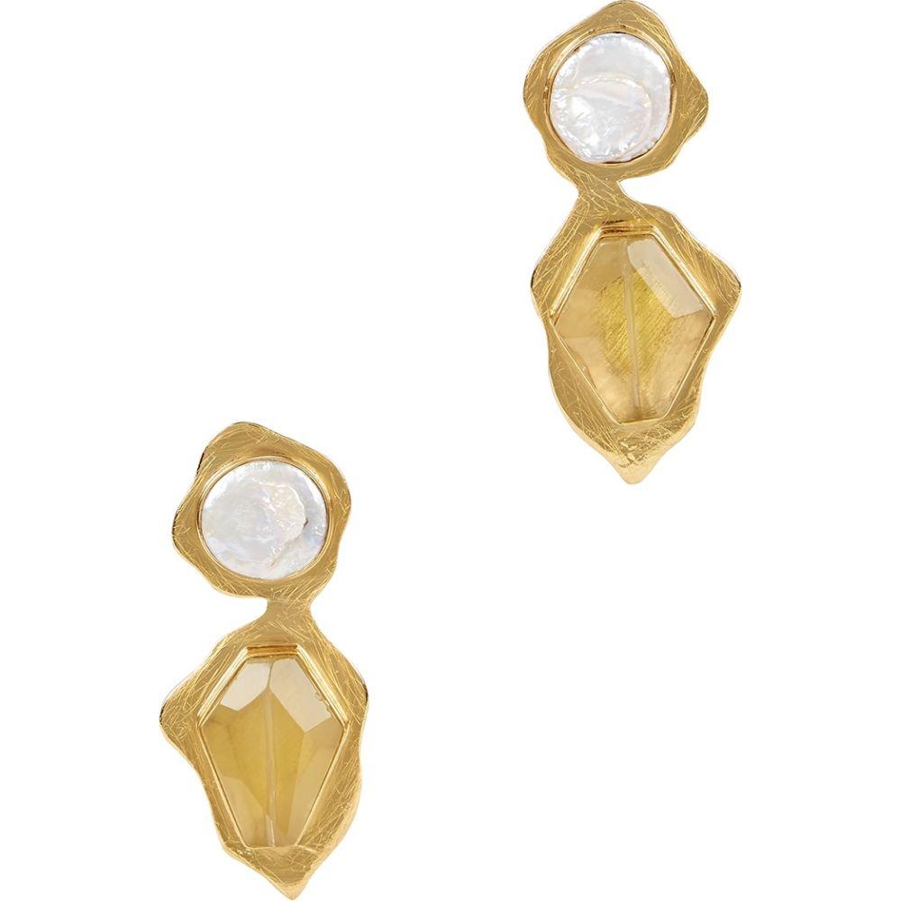 リヤ LIYA レディース イヤリング・ピアス ドロップピアス ジュエリー・アクセサリー【goldfinch gold-plated drop earrings】Gold
