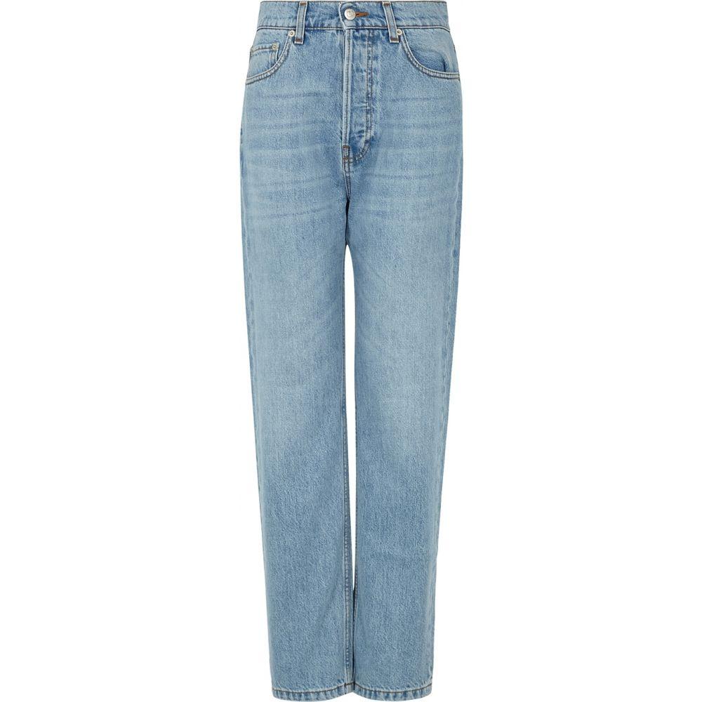 ナヌシュカ Nanushka レディース ジーンズ・デニム ボトムス・パンツ【kemia light blue straight-leg jeans】Blue