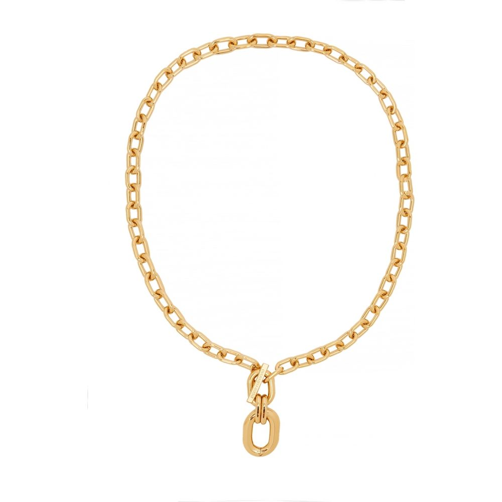 パコラバンヌ Paco Rabanne レディース ネックレス ジュエリー・アクセサリー【xl link gold-tone necklace】Gold