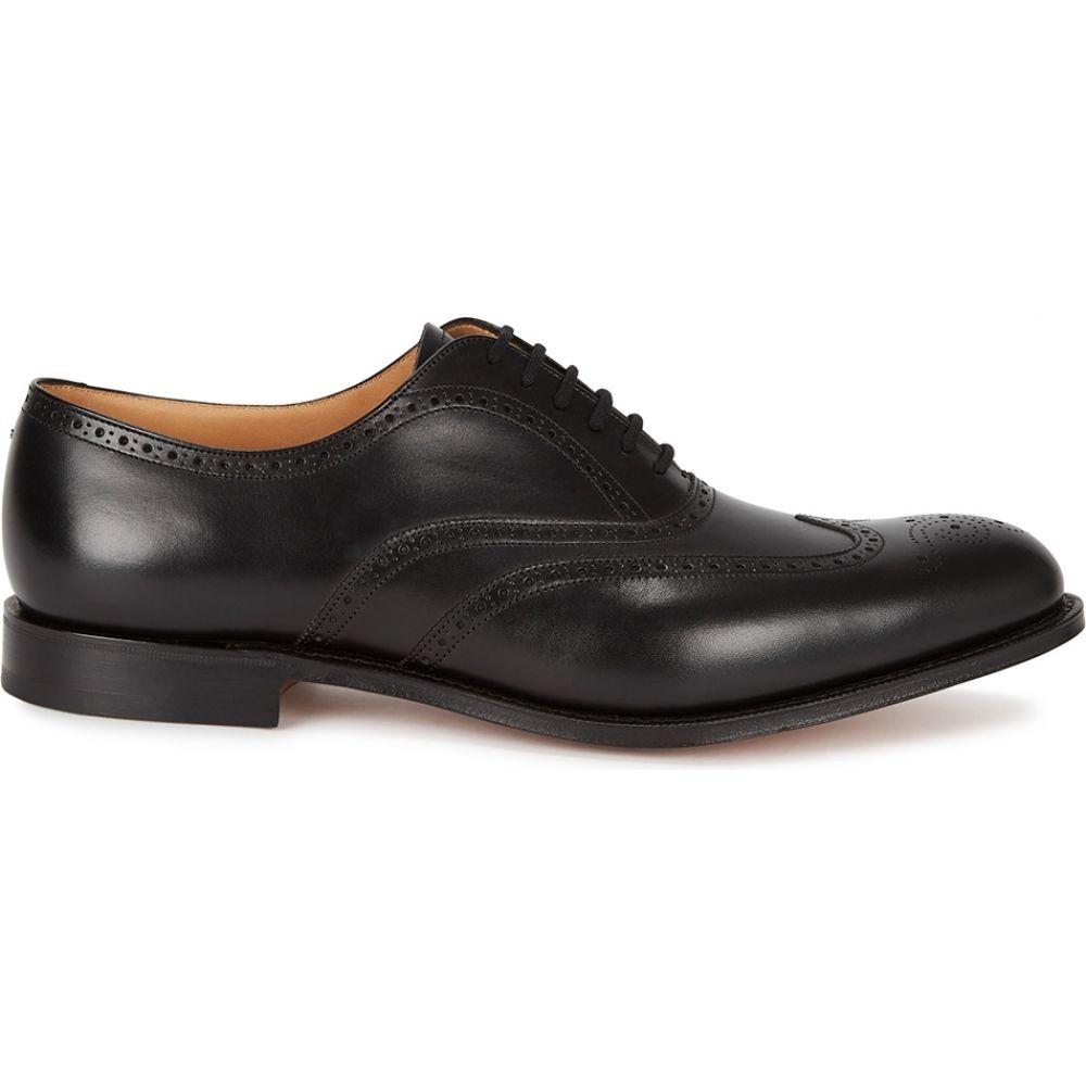 予約販売 チャーチ black Church's shoes】Black メンズ 革靴・ビジネスシューズ シューズ・靴【berlin チャーチ black leather oxford shoes】Black, コウノムラ:d8c7e30b --- askamore.com