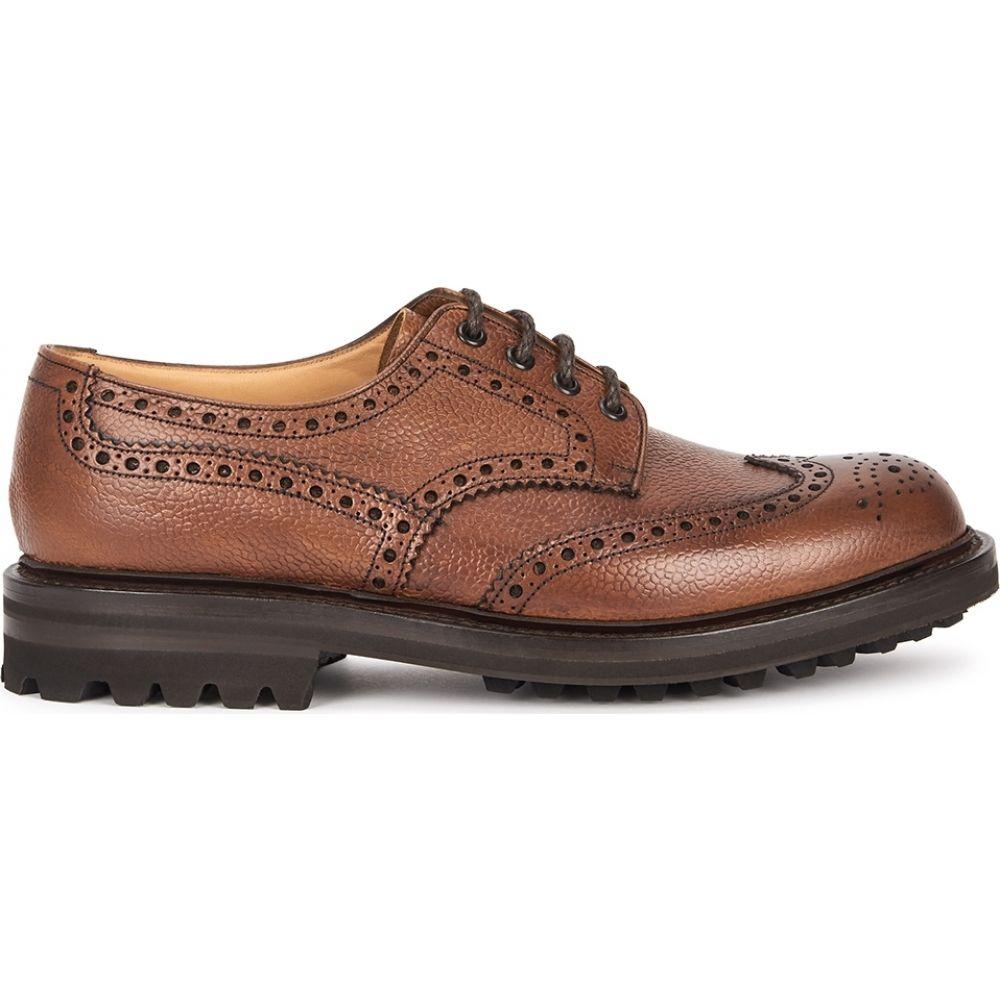 【正規通販】 チャーチ Church's shoes】Brown メンズ leather 革靴・ビジネスシューズ Church's ダービーシューズ シューズ・靴【mcpherson brown leather derby shoes】Brown, キャラクターラボ:1148b695 --- askamore.com