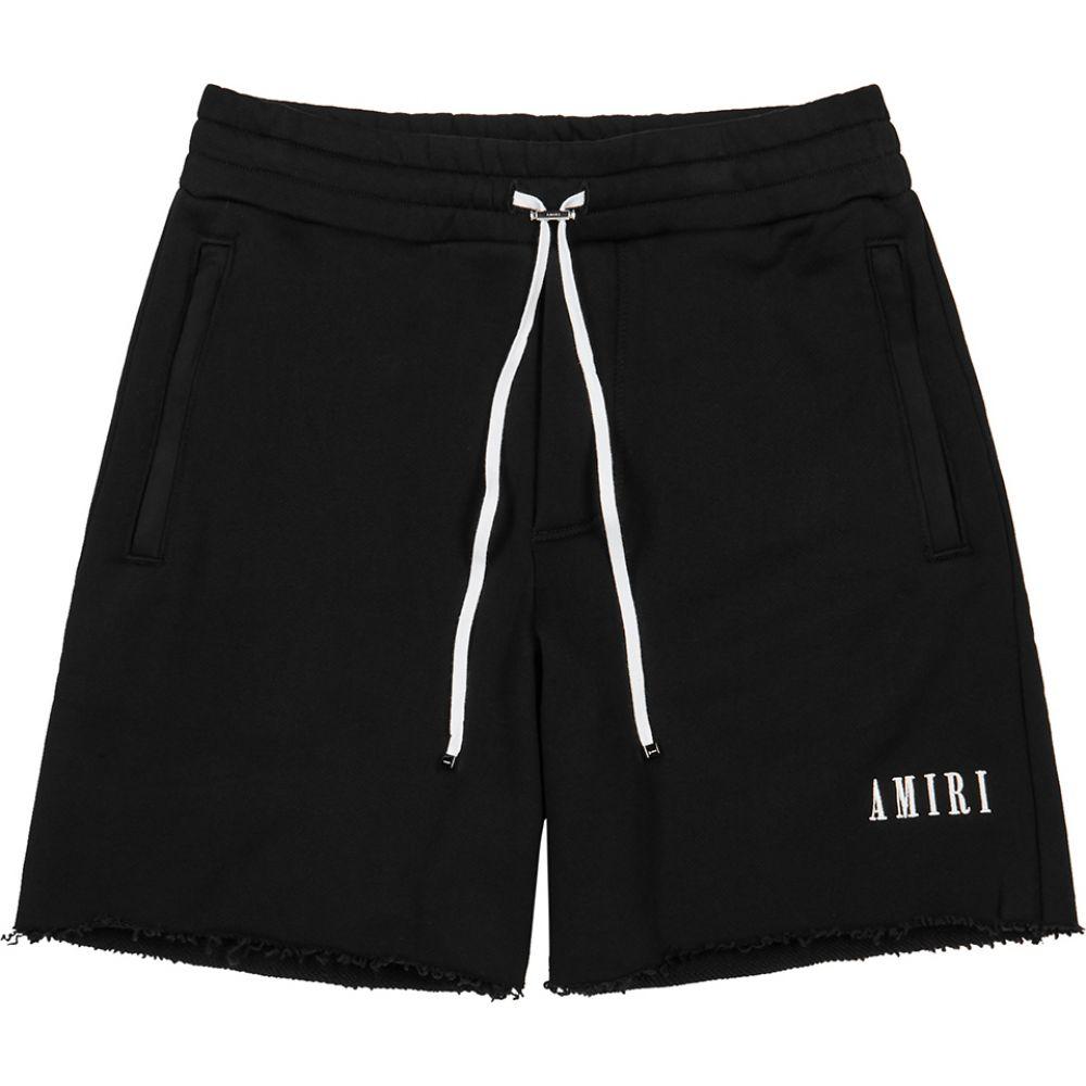 アミリ Amiri メンズ ショートパンツ ボトムス・パンツ【black cotton-jersey shorts】Black