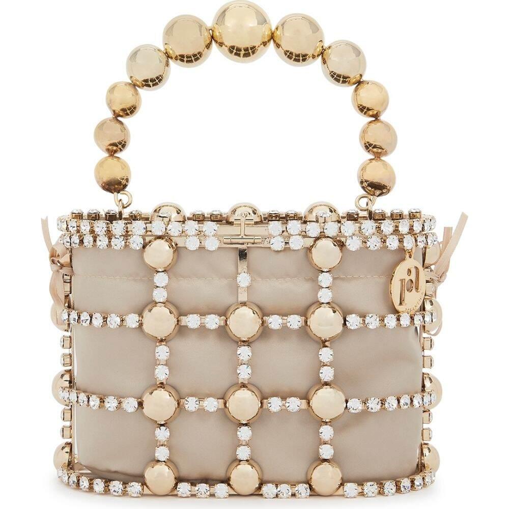 最も優遇 ロザンティカ Rosantica レディース ハンドバッグ バッグ【holli crystal-embellished top handle bag】Gold, 陶匠大雅 8acae028