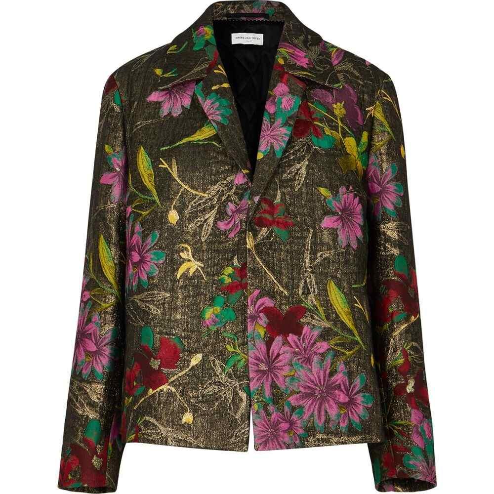 ドリス ヴァン ノッテン Dries Van Noten レディース ジャケット アウター【rolta floral-jacquard lame jacket】Multi