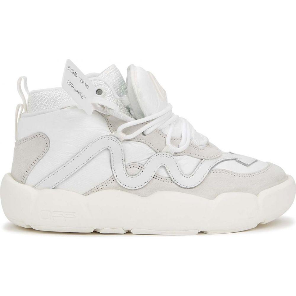 オフホワイト Off-White レディース スニーカー シューズ・靴【Optic Chlorine White Sneakers】White