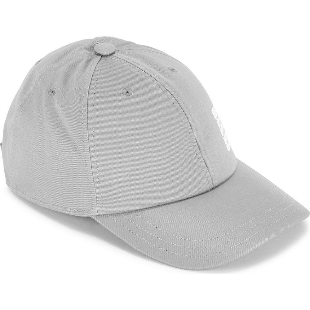 トム ブラウン Thom Browne メンズ キャップ 帽子【Grey Patch-Appliqued Twill Cap】Grey