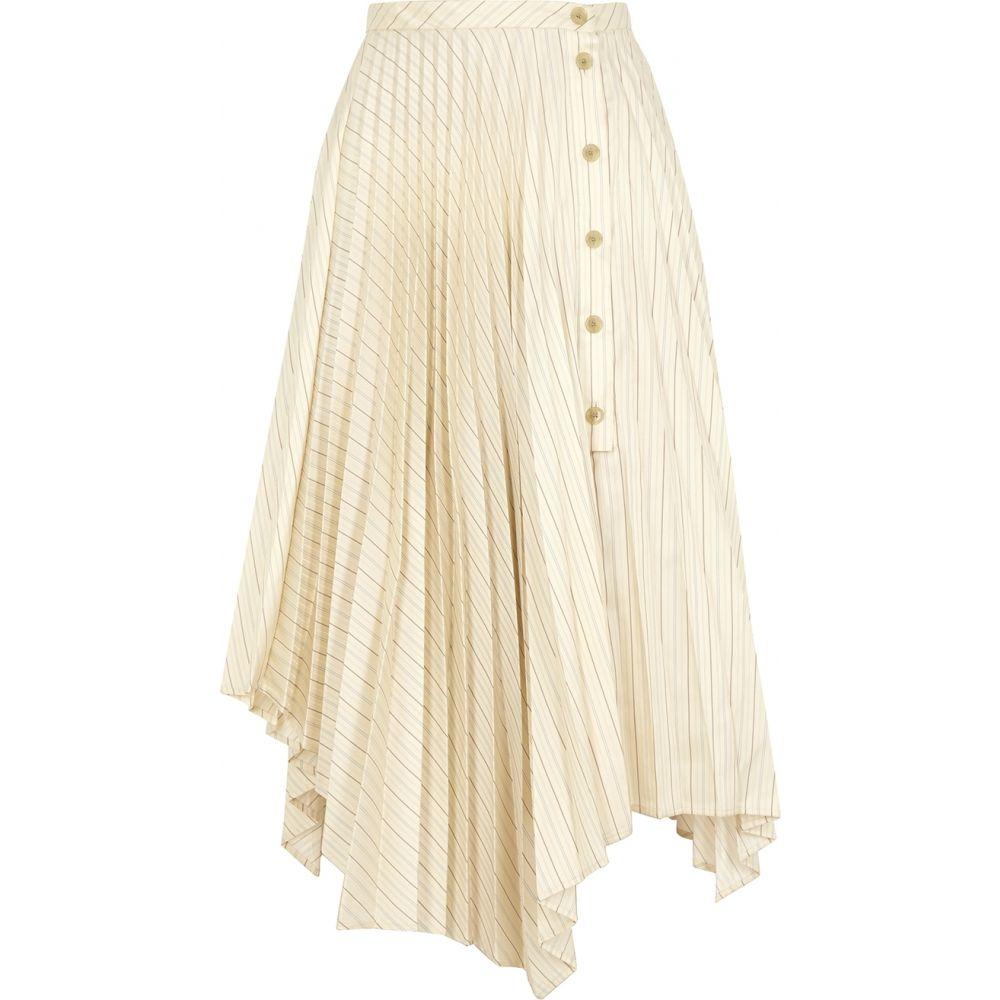アクネ ストゥディオズ Acne Studios レディース ひざ丈スカート スカート Ilia Striped Asymmetric Midi Skirt Multim8N0vnw