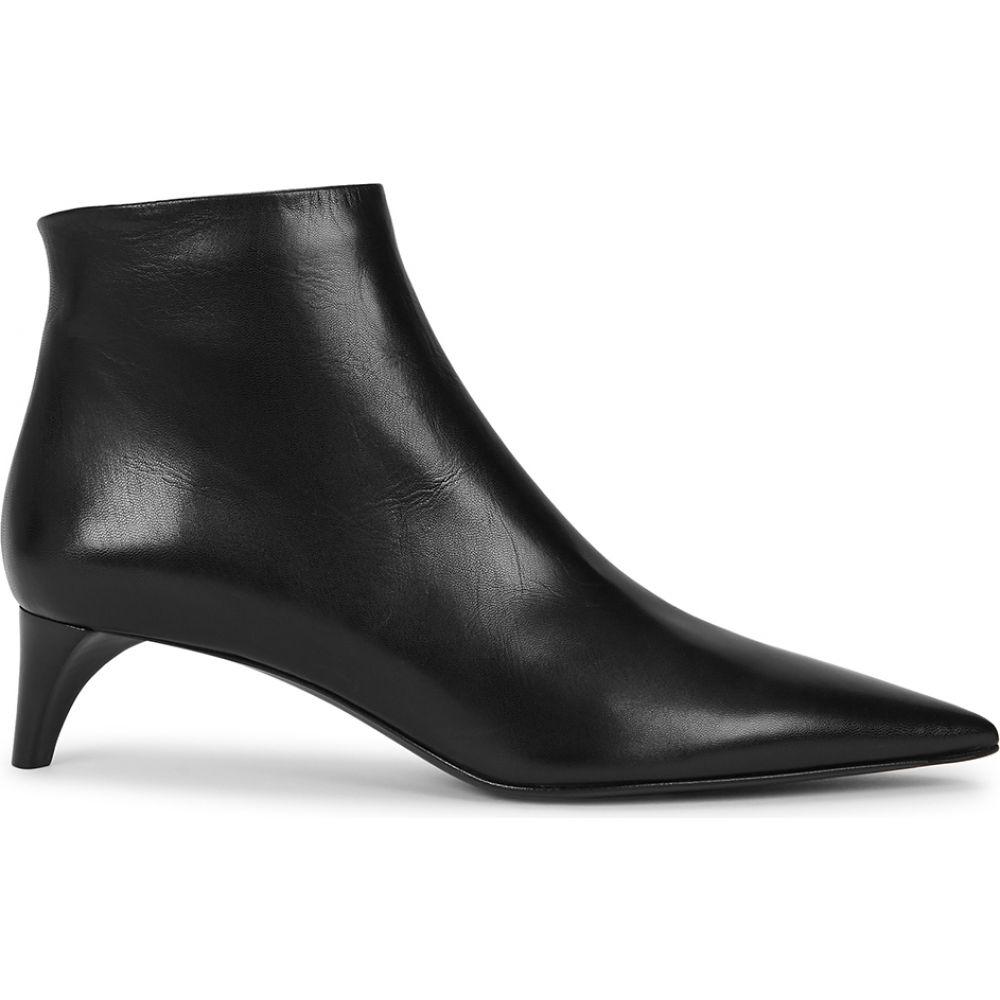 即納!最大半額! ジル サンダー Jil Sander レディース ブーツ ブーツ ショートブーツ シューズ Ankle・靴 Jil【50 Black Leather Ankle Boots】Black, bocca-shop:a26786d2 --- bellsrenovation.com