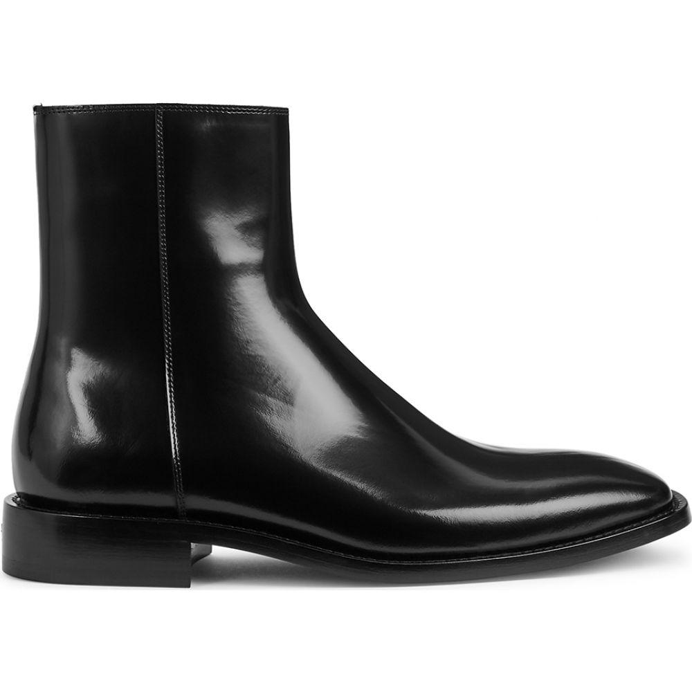 バレンシアガ Balenciaga メンズ ブーツ チェルシーブーツ シューズ・靴【Black Patent Leather Chelsea Boots】Black