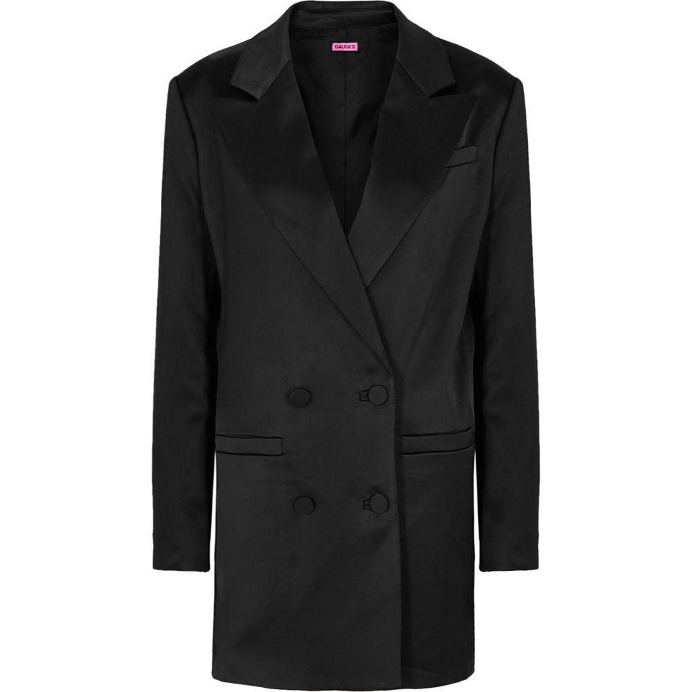 ゲージ81 GAUGE81 レディース スーツ・ジャケット アウター【Black Satin Blazer】Black