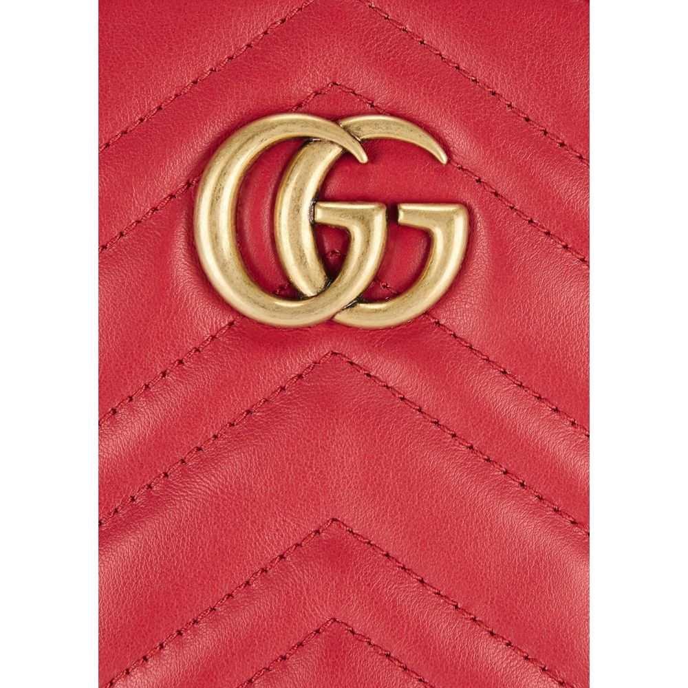 グッチ Gucci レディース ショルダーバッグ バッグ Gg Marmont Mini Leather Cross Body35AR4jLq