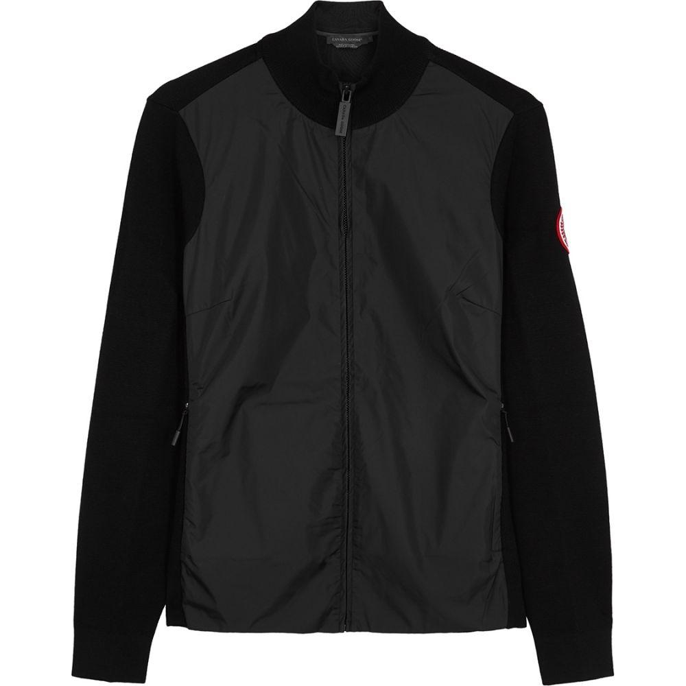 カナダグース Canada Goose レディース ジャケット アウター【Windbridge Black Merino Wool Jacket】Black