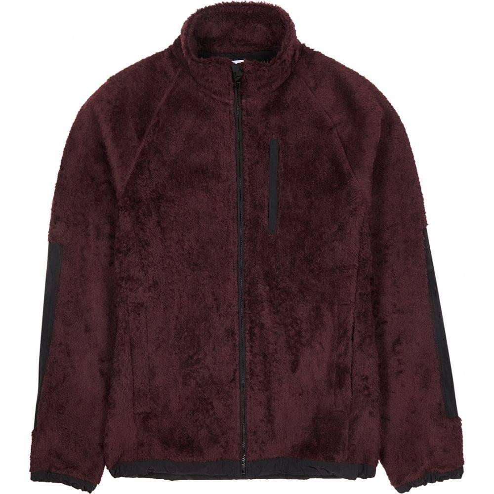 ノースプロジェクト Norse Projects メンズ スウェット・トレーナー トップス【Burgundy High-Neck Fleece Sweatshirt】Red