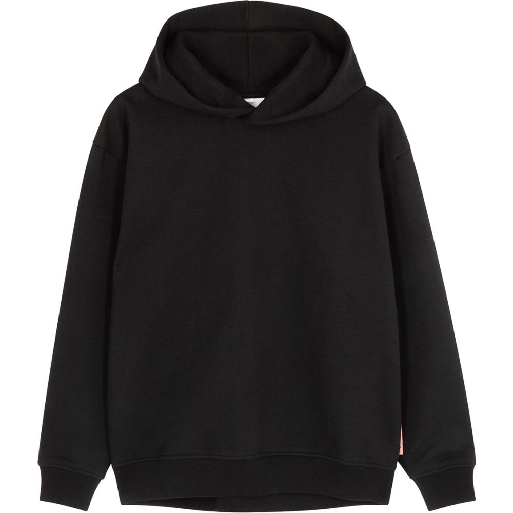 人気が高い  アクネ ストゥディオズ Acne Studios レディース レディース パーカー Studios スウェット トップス トップス【black【black hooded cotton-blend sweatshirt】Black, パーティードレス通販 GIRL:6c1dc79c --- sturmhofman.nl
