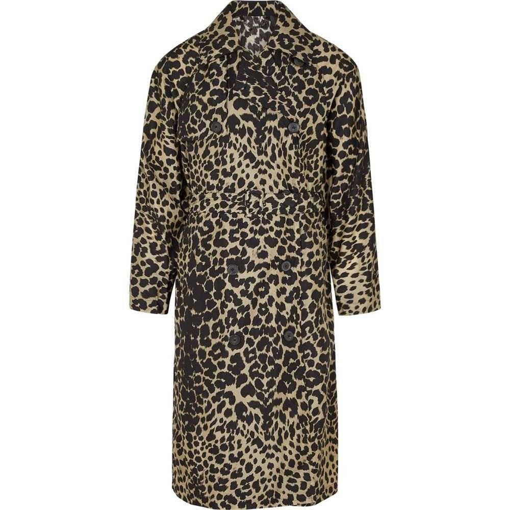 ドリス ヴァン ノッテン Dries Van Noten メンズ トレンチコート アウター【Leopard-Print Shell Trench Coat】Multi