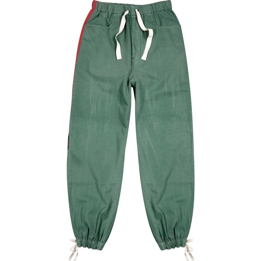 グッチ Gucci メンズ スウェット・ジャージ ウォッシュ加工 ボトムス・パンツ【Green Washed Denim Sweatpants】Green