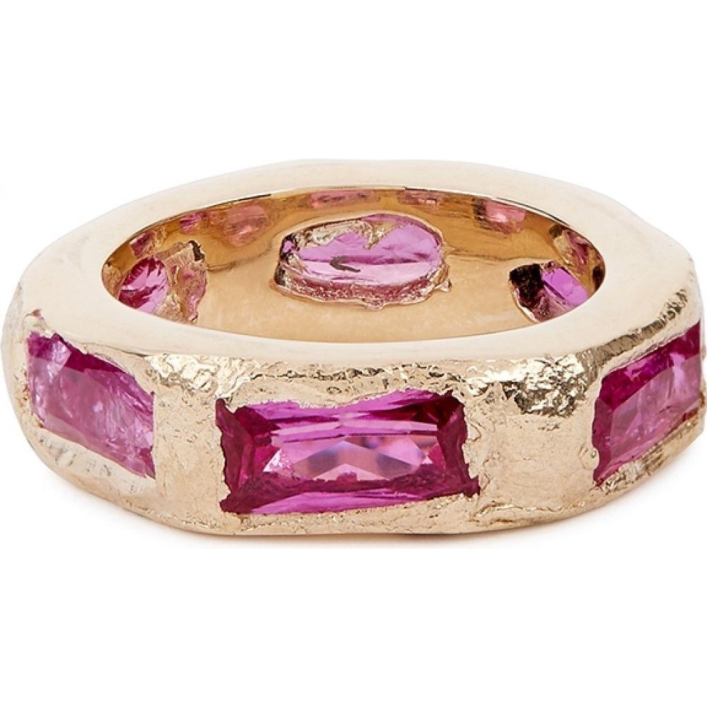 ブルー バーナム 宅配便送料無料 メンズ ジュエリー アクセサリー 指輪 リング サイズ交換無料 gold ring Bleue embellished lotus 宅送 Gold Burnham 9kt