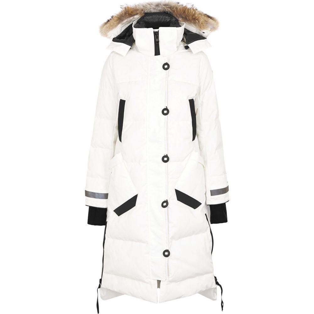 【おトク】 カナダグース Canada コート Goose レディース arctic-tech コート off-white アウター【aldridge off-white arctic-tech parka】White, カワミナミチョウ:e3f9905e --- agrohub.redlab.site