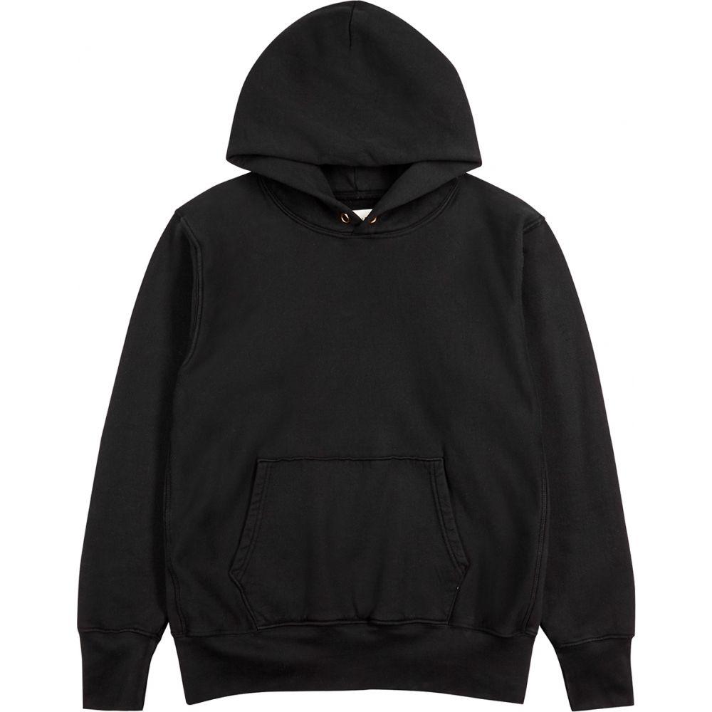 【お気に入り】 レス ティエン Les Tien レス メンズ パーカー Les スウェット cotton トップス【black hooded cotton sweatshirt】Black, makana mall:4e3bfc4b --- promilahcn.com