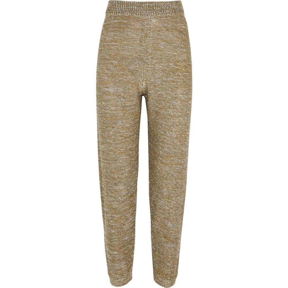 適切な価格 フォルテ フォルテ forte_forte レディース スウェット・ジャージ ボトムス・パンツ【lame-weave knitted sweatpants】Silver, ビューティーストアー 24177179