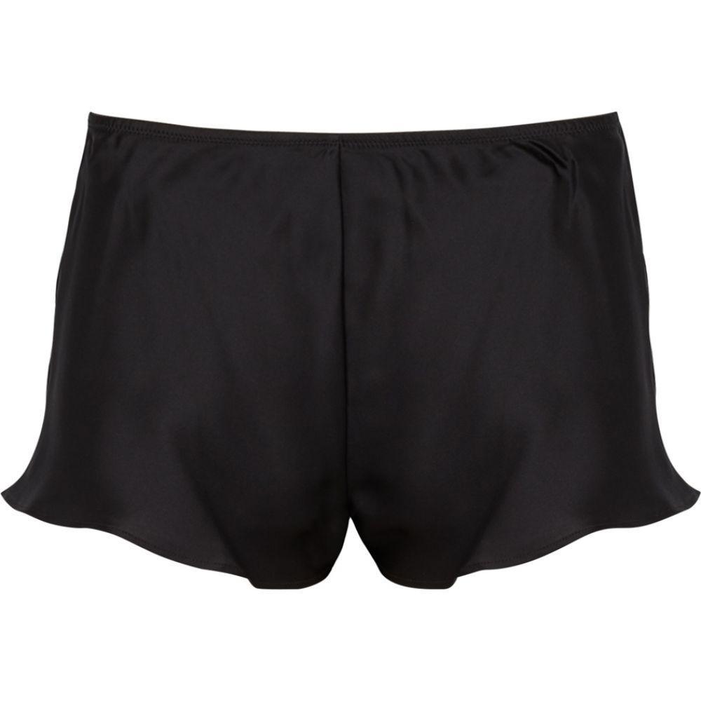シモーヌペレール Simone Perele レディース パジャマ・ボトムのみ インナー・下着【Dream Black Silk Shorts】Black