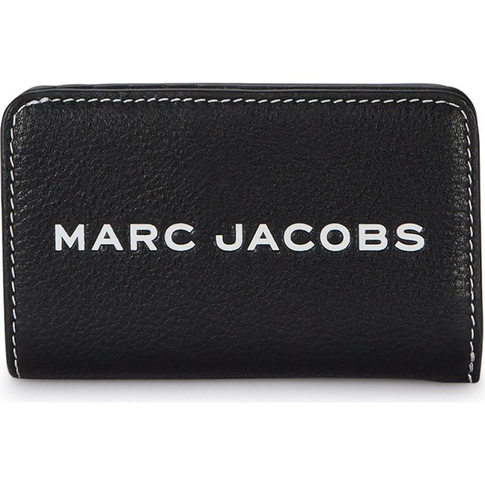 マーク ジェイコブス Marc Jacobs レディース 財布 【Black Grained Leather Wallet】Black