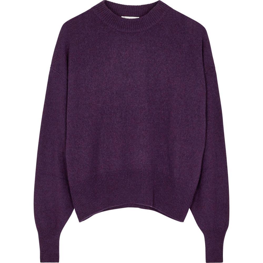ザ ロウ THE ROW レディース ニット・セーター トップス【Ophelia Purple Cashmere And Cotton-Blend Jumper】Purple