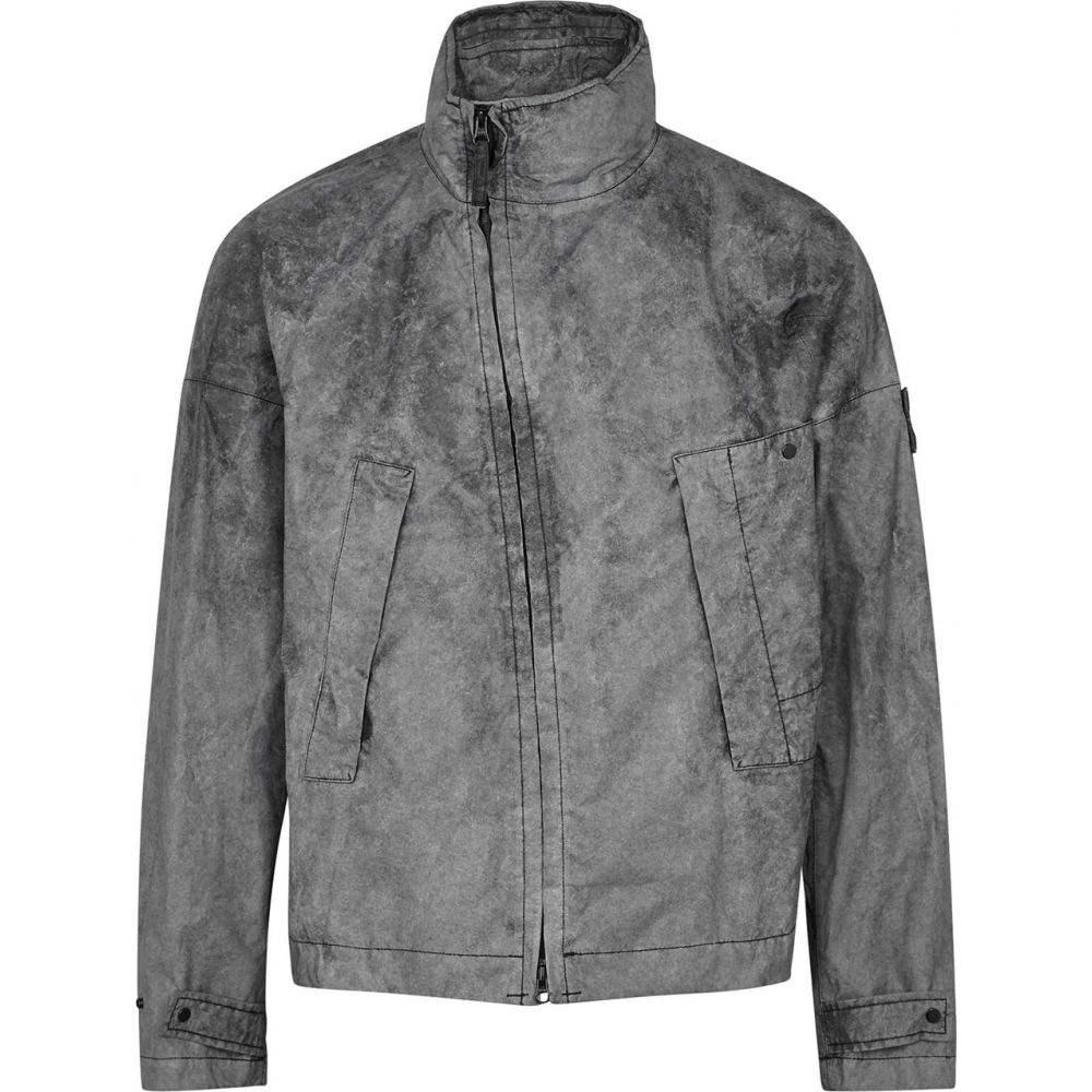 ストーンアイランド Stone Island メンズ ジャケット シェルジャケット アウター【Membrana Black Shell Jacket】Black