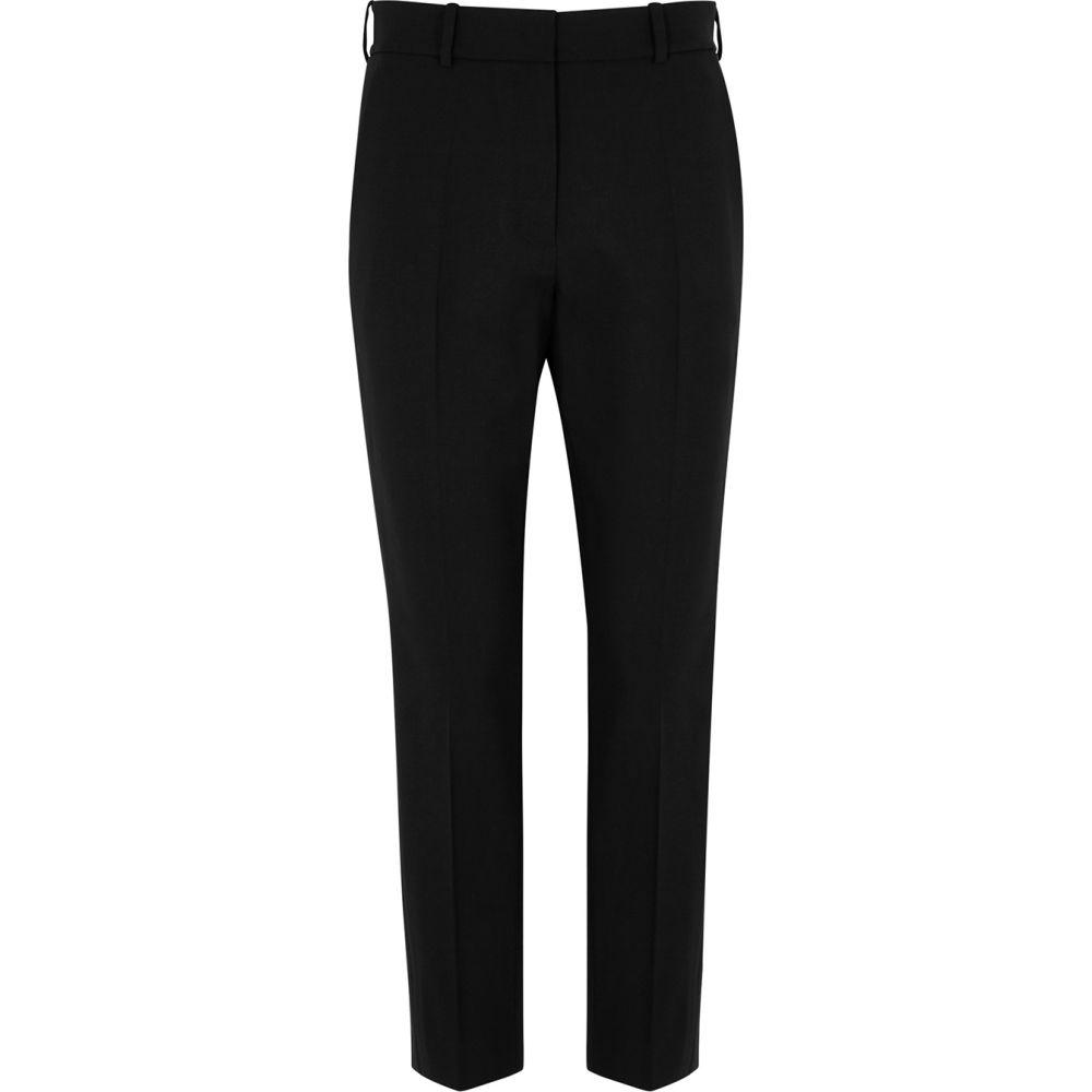 ラシル RACIL レディース スキニー・スリム ボトムス・パンツ【Victor Black Slim-Leg Wool Trousers】Black