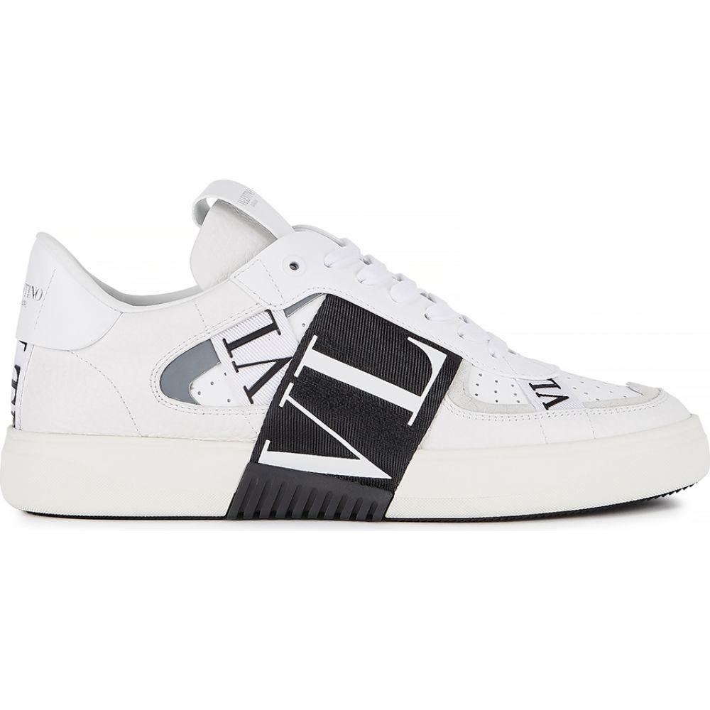 ヴァレンティノ Valentino レディース スニーカー シューズ・靴【Garavani Vl7N White Grained Leather Sneakers】White