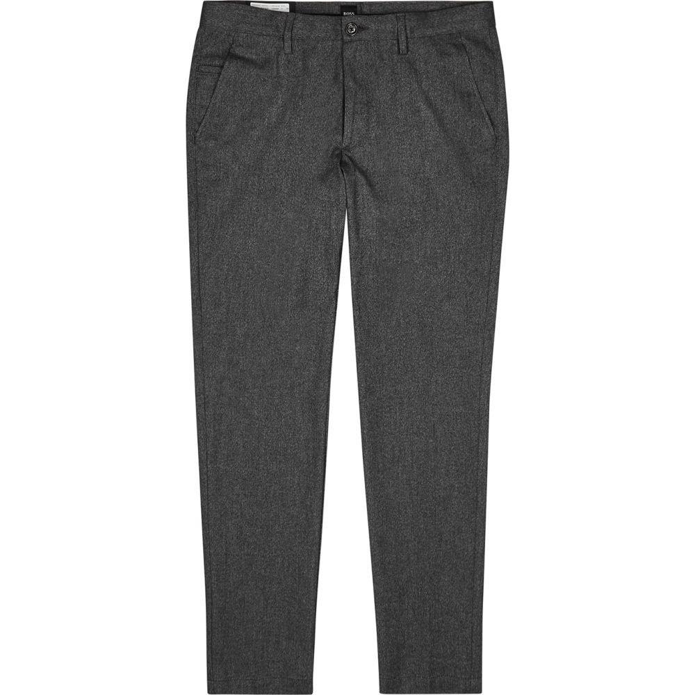 ヒューゴ ボス BOSS メンズ ボトムス・パンツ 【Kaito Grey Brushed Cotton Trousers】Grey