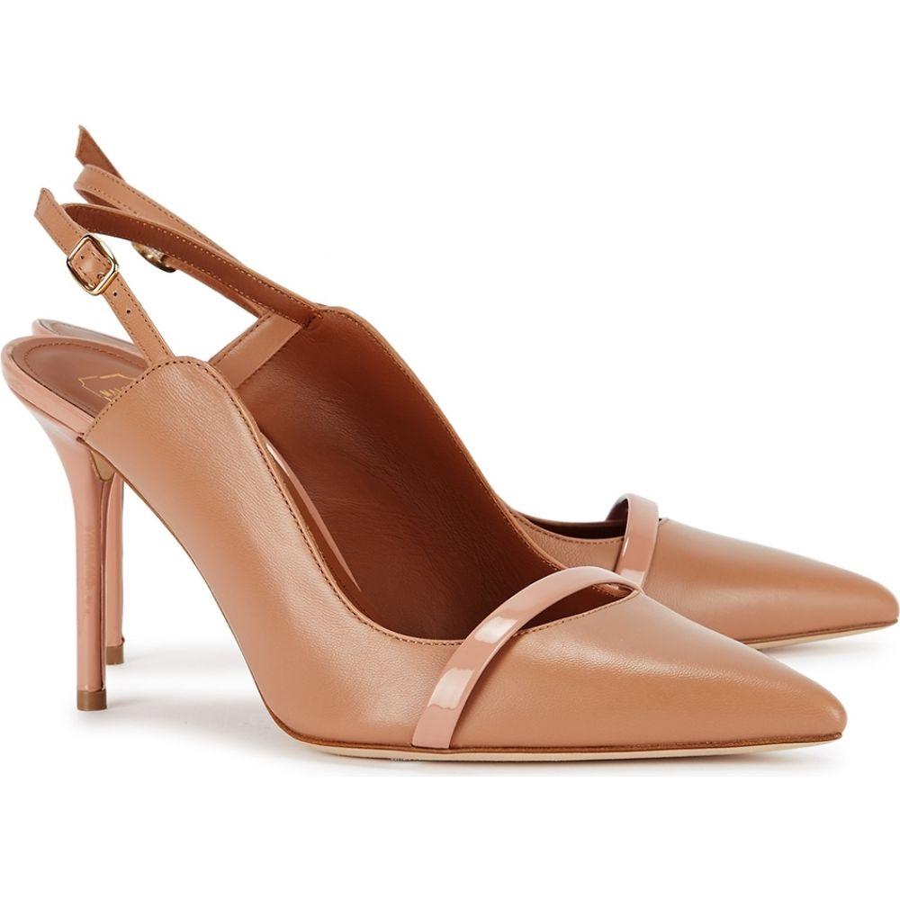 マローンスリアーズ Malone Souliers レディース パンプス シューズ・靴 Marion 85 Camel Leather Pumps NudeoWxerdCB