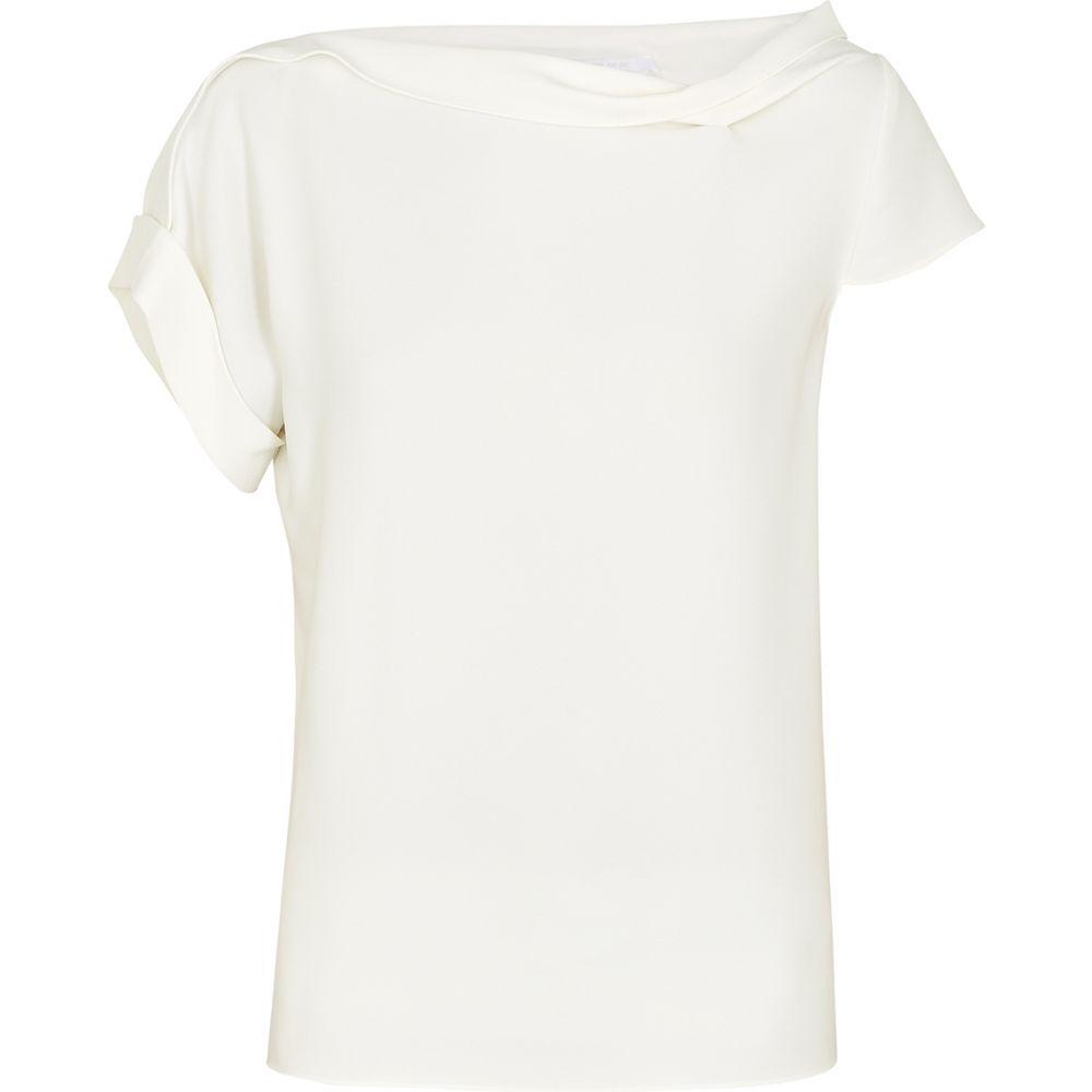 ローラン ムレ Roland Mouret レディース トップス 【Olinda White Asymmetric Top】White