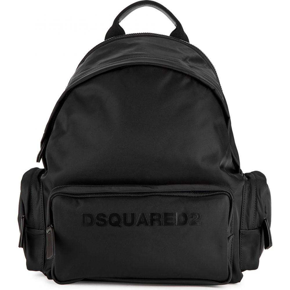 ディースクエアード Dsquared2 メンズ バックパック・リュック バッグ【Black Nylon Backpack】Black