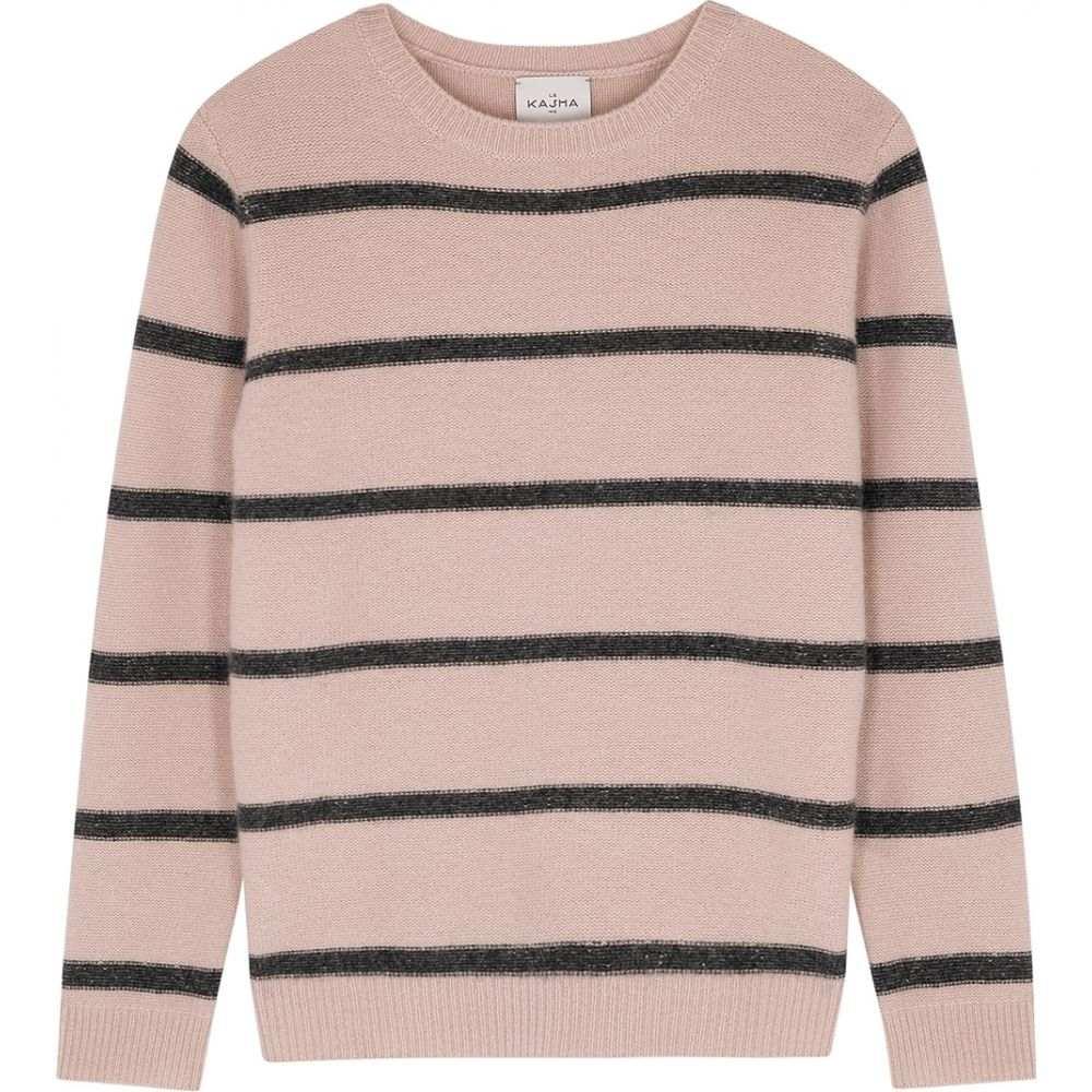 ルカシャ Le Kasha レディース ニット・セーター トップス【Toucques Striped Cashmere Jumper】Pink