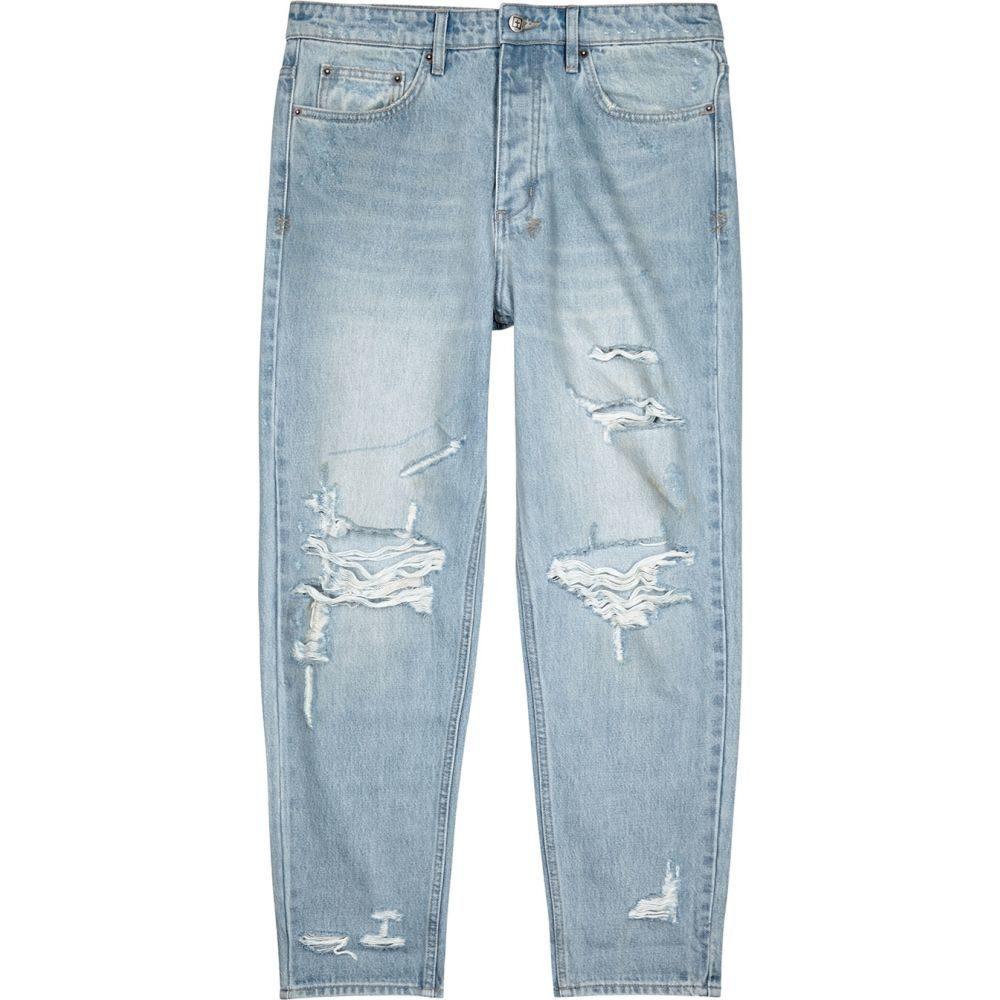 スビ ksubi メンズ ジーンズ・デニム ボトムス・パンツ【Bullet Blue Straight-Leg Jeans】Blue