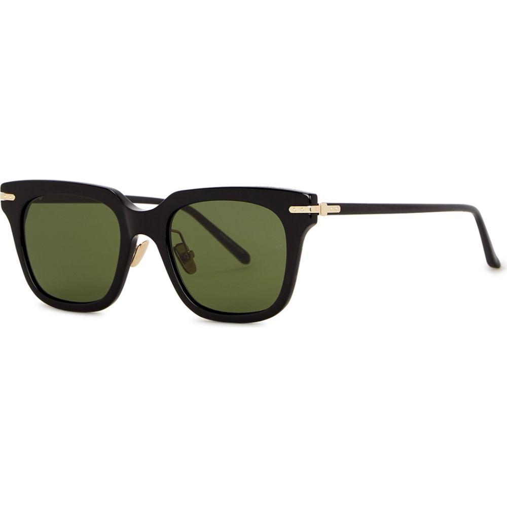 リンダ ファロー Linda Farrow Luxe レディース 祝開店大放出セール開催中 Sunglasses 内祝い Black Empire メガネ サングラス Wayfarer-Style