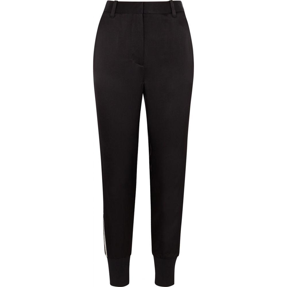 スリーワン フィリップ リム 3.1 Phillip Lim レディース ボトムス・パンツ 【Black Embellished Satin Trousers】Black