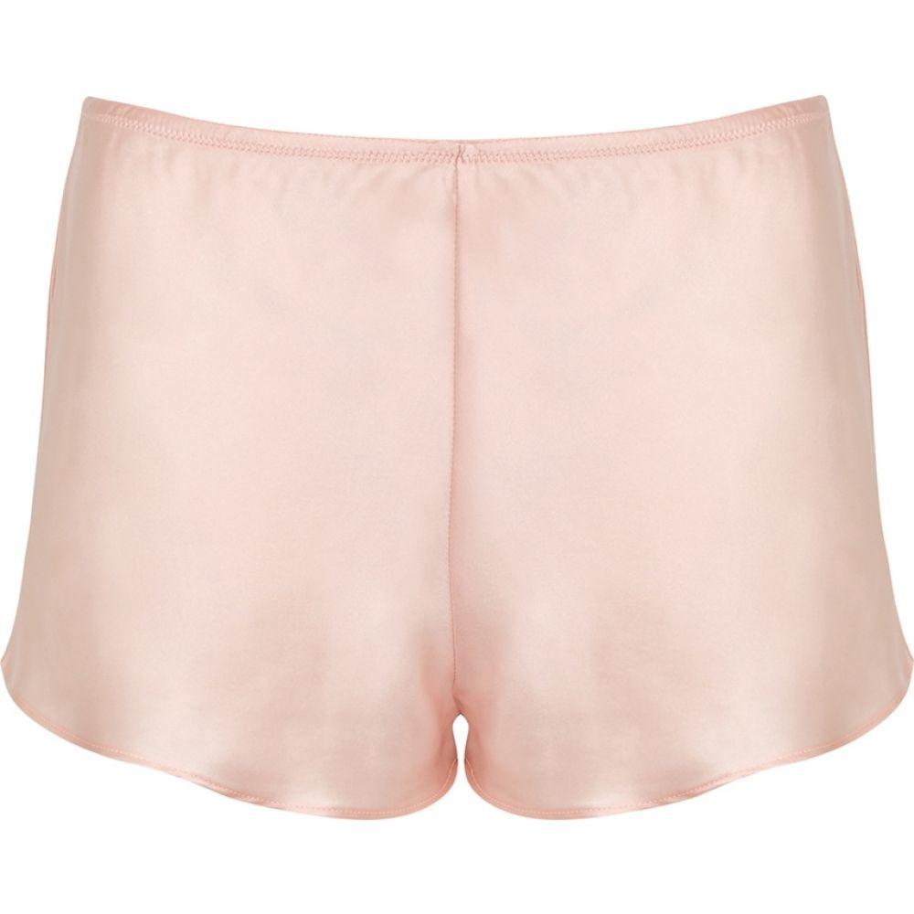 シモーヌペレール Simone Perele レディース パジャマ・ボトムのみ インナー・下着【Dream Blush Silk Shorts】Pink