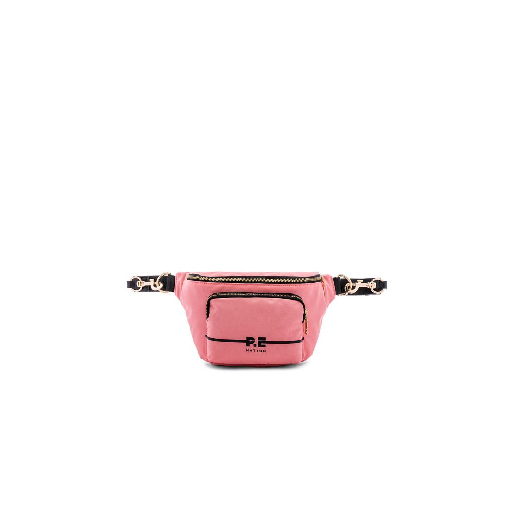 P.E ネーション P.E Nation レディース バッグ ボディバッグ・ウエストポーチ【The Lay back Bumbag Fanny Pack】Salmon