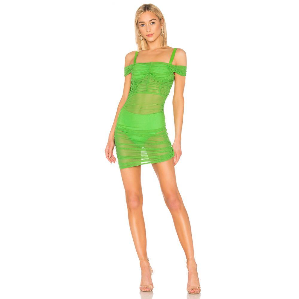ダニエルギジオ DANIELLE GUIZIO レディース ワンピース・ドレス ワンピース【Lynx Dress】True Green